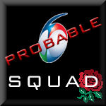 6Ns Squad England probable