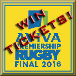 Aviva Premiership Final 2016 Win Tickets