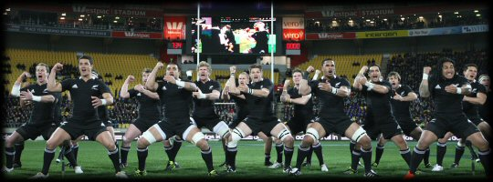 All Black haka in new strip| Tri Nations v South Africa 30 July 2011