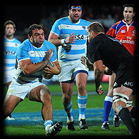All Blacks Pumas Agustin Creevy Luke Romano TRC2015