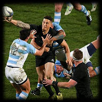 All Blacks Pumas Sonny Bill Wiliiams TRC2015