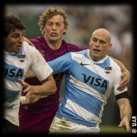 Argentina England Billy Twelvetrees Felipe Contepomi 1st Test