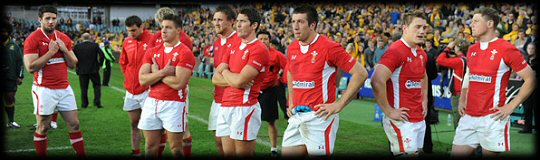 Australia Wales 3rd Test Losers