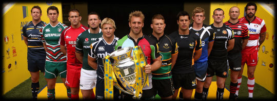 Aviva Premiership Launch 2012