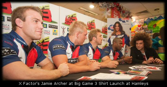 X Factor Jamie Archer Hamleys