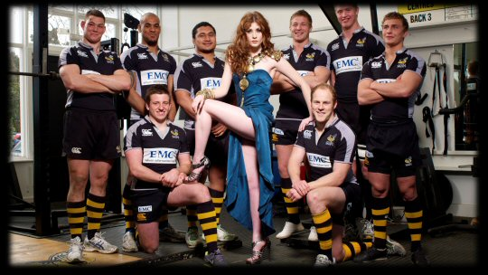 Britain's Next Top Model @ London Wasps
