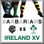 BaaBaas vs Ireland XV