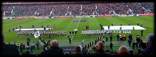 Barbarians 125th Anniversary match v Argentina