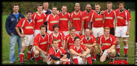 Barnstaple RFC Jerry Collins 2007
