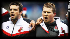 Ben Foden Dylan Hartley England Rugby