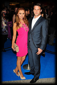 Ben Foden Una Healy Pirates Of The Caribbean On Stranger Tides Premiere