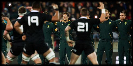 Boks All Blacks haka TRC 2015