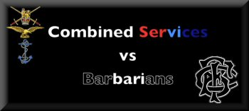 Combined Services vs Barbarians