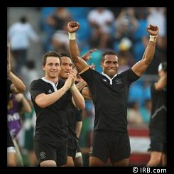 Commonwealth Games Rugby 7s Day 2 New Zealand Gold Medal Winners