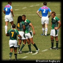 Commonwealth Games Rugby 7s Day 2 South Africa Scotland