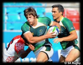 Commonwealth Games Rugby 7s Day 1 South Africa Tonga