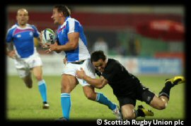 Commonwealth Games Rugby 7s Day 1 Scotland New Zealand