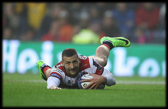 Challenge Cup Final 2017 Jonny May try