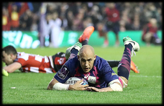 Challenge Cup Final 2017 Sergio Parisse try