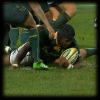 Chiliboy Ralepelle try | Australia v South Africa