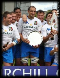 Churchill Cup Italy A Tonga Plate Final