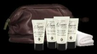 Classic men's grooming gentlemen's travel bag