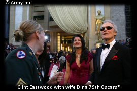 Clint Eastwood at the 79th Oscars