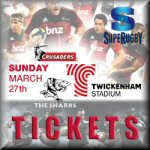 Crusaders vs Sharks @ Twickenham | Investec Super Rugby