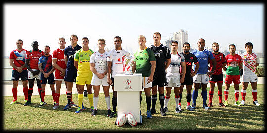 Dubai 7s 2015 Captains