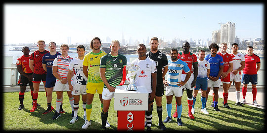 Dubai 7s 2016 Captains