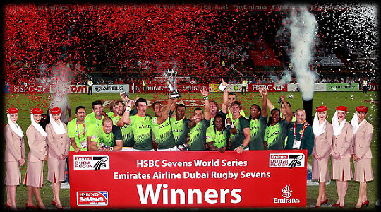 Dubai 7s South Africa Cup Winners 2014