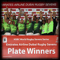 Dubai 7s South Africa Plate Winners 2015