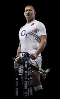 Dylan Hartley Six Nations Trophy 2016