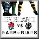 England vs Barbarians 2012