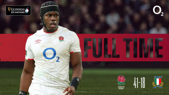 England v Italy FT 6Ns 2021