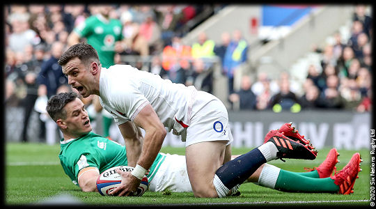 England vs Ireland Johnny Sexton George Ford 6Ns 2020