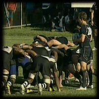 Fiji Scotland scrum