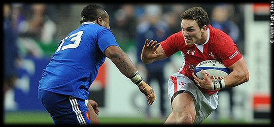 France Wales 2013 George North try