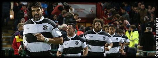 Gloucester Rugby v Barbarians
