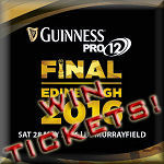 Guinness PRO12 Final 2016 Win Tickets