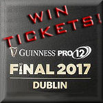 Guinness PRO12 Final 2017 win tickets