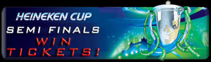 Heineken Cup Semi Final Win Tickets 2014