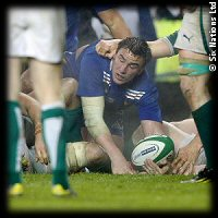 Ireland France Louis Picamoles try