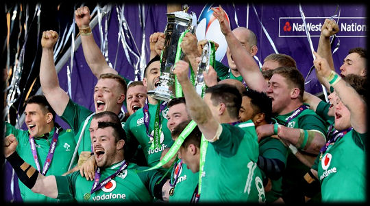 Ireland NatWest Six Nations Champions 2018