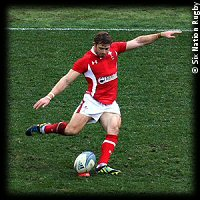 Italy Wales Leigh Halfpenny