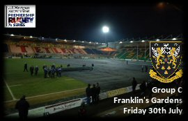 Franklin's Gardens Ticket Office