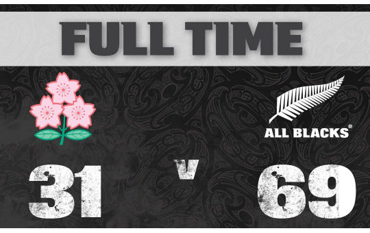 Japan v All Blacks FT