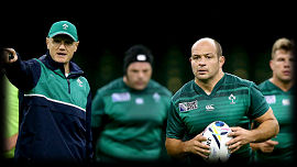 Joe Schmidt Rory Best Ireland Rugby