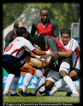 Commonwealth Games Rugby 7s Day 1 Kenya Malaysia