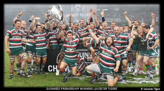 Guinness Premiership Final 2010 Winners Leicester Tigers